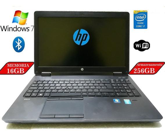 Hp Zbook 15-g2 Core I7-4810 Quadro K2100m/16gb/ssd 256