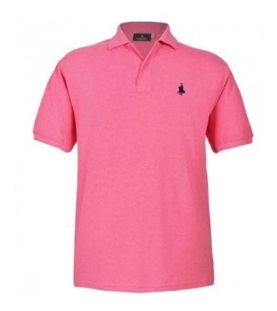 Playera Polo Club, En Jaspe 10 Colores Diferentes