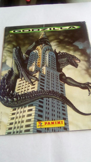 Álbum Figurinhas Godzilla - Panini Completo C/ Poster