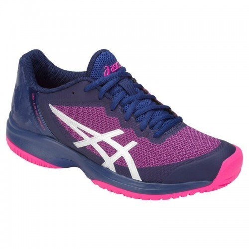 Tênis Asics Gel Court Speed Azul E Rosa