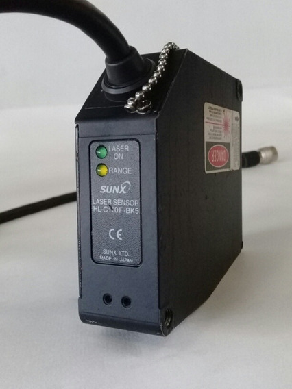Sensor Ótico A Laser Sunx Hl-c110f-bk5