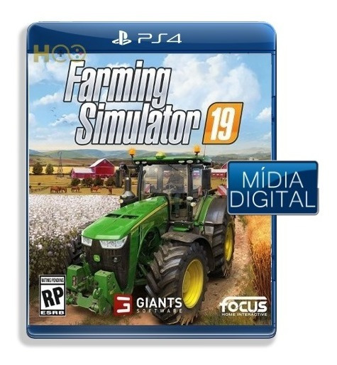 Farming Simulator 19 - Ps4 Cod Psn I Entrega Imediata