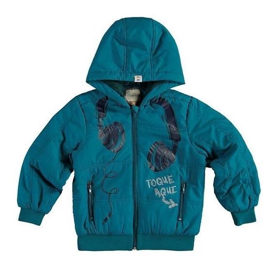 Jaqueta/casaco Masculina Infantil Zig Zig Zaa Com Capuz