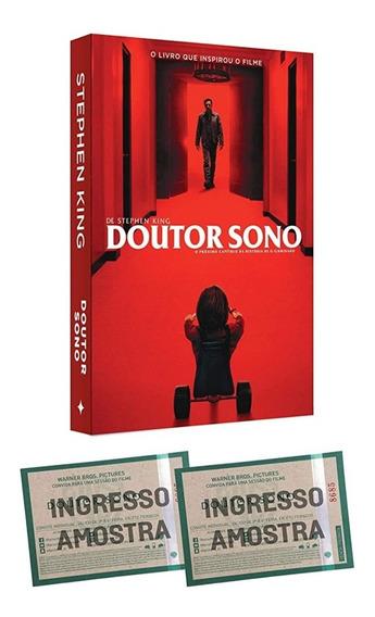 Livro Dr. Sono + Ingresso - Stephen King - Novo