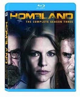 Bluray Homeland: Season 3 Envío Gratis