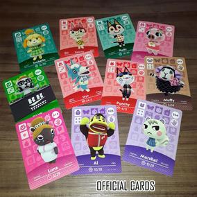 Animal Crossing Amiibo Cards Originais + Nfc Fan-made Cards