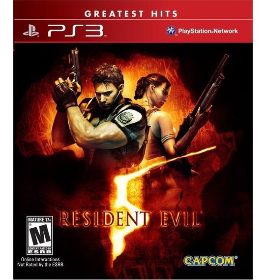 Game - Resident Evil 5 - Ps3