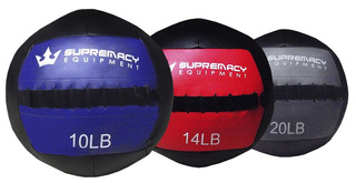 Balon Medicinal 2.0 Supremacy 10-lb - Negro /azul