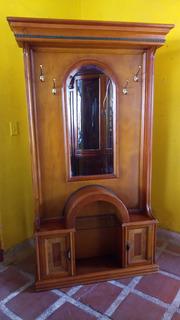 Mueble Perchero Italiano Comino Crespo 1950 Antiguo