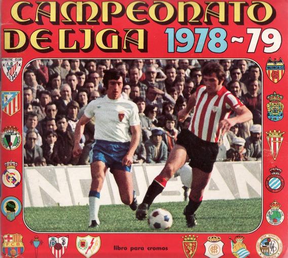 Álbum Campeonato Espanhol 1978/1979 Ed. Disgra Scaner (d06)