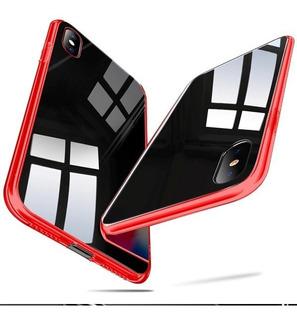 Bumper & Cristal Protector Clear Case iPhone 10 X Xr Xs Max