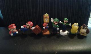 Muñecos Super Mario Bros. Nintendo
