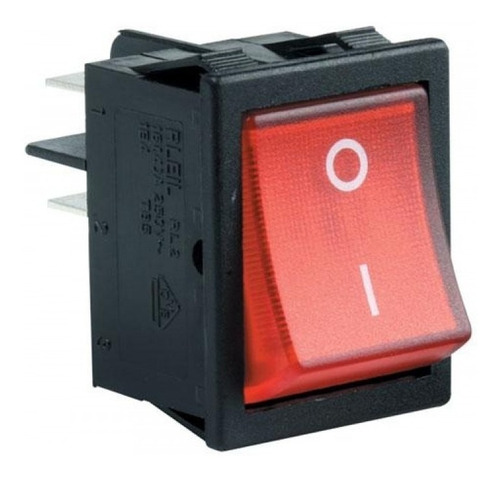Imagen 1 de 2 de Interruptor Luminoso Llave Tablero Bomba Motorarg