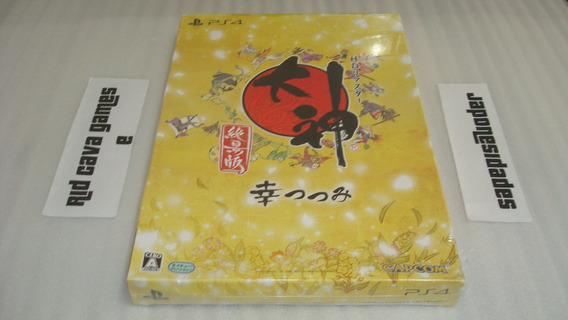 Okami Hd Remaster Limited Edition Japan Ps4