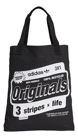 Bolsa adidas Originals Shopper Bodega Preta - Único - Preto
