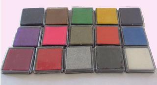 Arbol De La Vida. Almohadillas, Tinta, Colores, Huellas (x3)