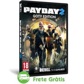 Payday 2 Pc Goty Edition Jogo Ação Roubo Fps Mídia Física