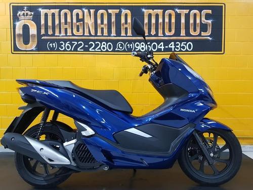 Honda Pcx - Azul - 2020 - Km 2.000