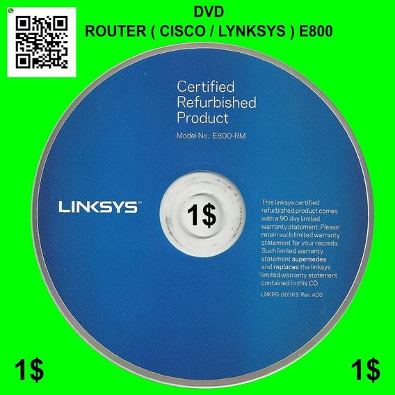 Router Cisco / Lynksys E800