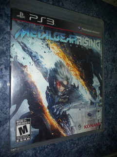 Playstation 3 Ps3 Video Juego Metal Gear Rising Revengeance