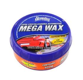 Cera Cristalizadora Mega Wax 100g - Pérola