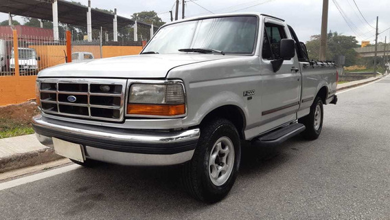 Ford F1000 Xlt, 1997, Completa, Raridade! Aceito Troca
