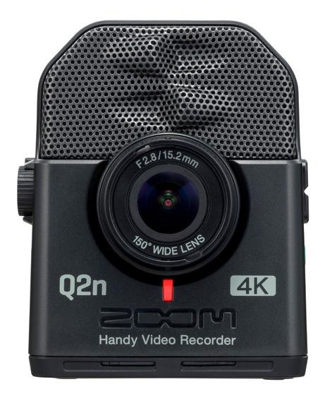 Zoom Q2n 4k Gravador Digital De Áudio E Vídeo