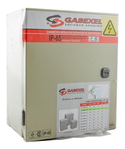 Gabinete Metalico Estanco Ip65 Tradicional 300x250x160mm