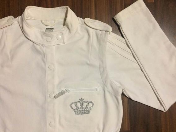 Casaco adidas Respect Feminino Sarja P Importado Original