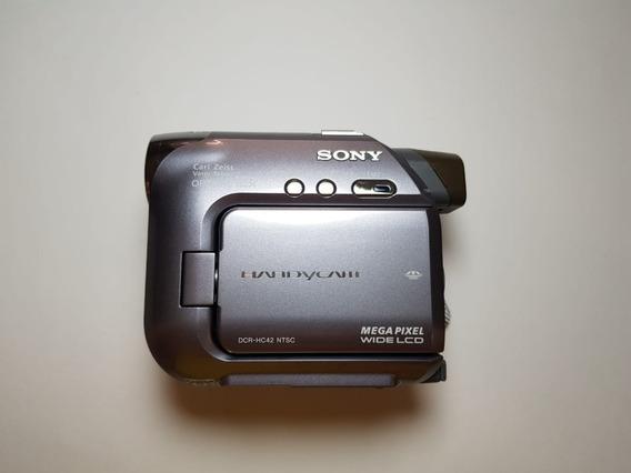 Filmadora Sony Handycan Dcr-hc42 (fitas Mini Dv)