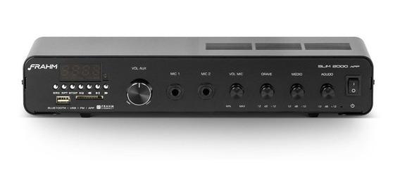 Amplificador Frahm Bluetooth, Usb/sd/fm Slim 2000 App G2