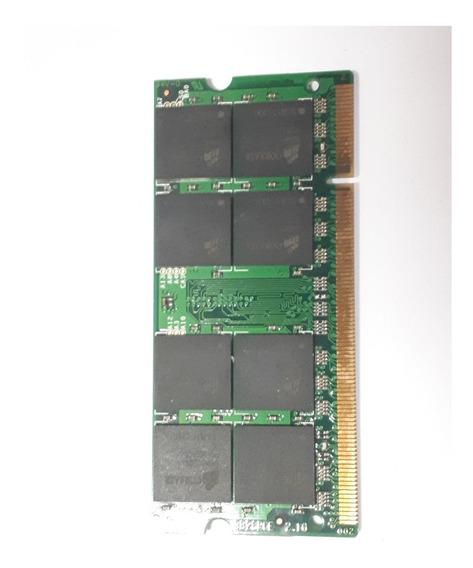 Memoria Corsair Ddr2 667mhz 1gb Pc2-4200 Usado Notebook
