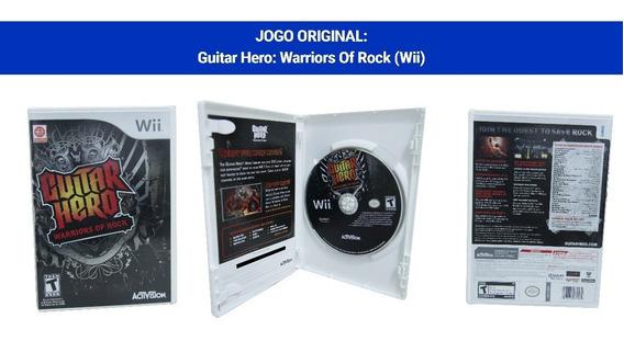 Guitar Hero: Warriors Of Rock - Wii - Bom Estado, Com Folder