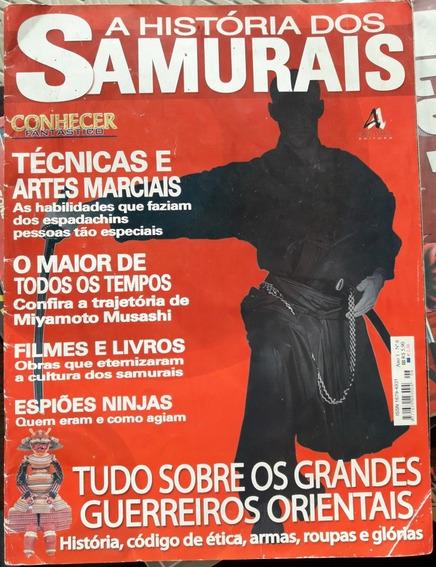 Conhecer Fantástico A História Dos Samurais Numero 6
