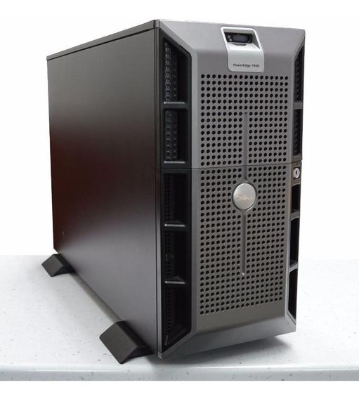 Servidor Dell Poweredge 1900 Usado Com Defeito Não Liga.