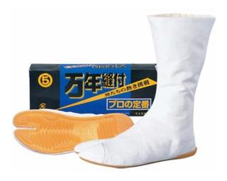 Jikatabi Tabi Ninja Bota Japonesa - Branco - Pronta Entrega