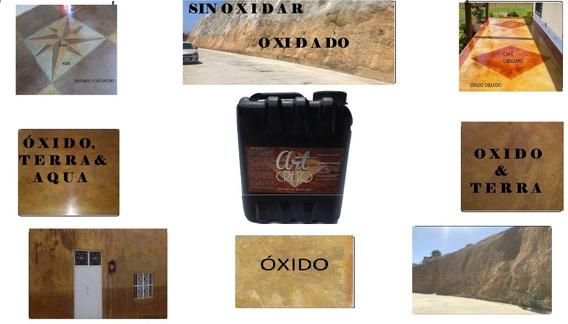 Oxidante De Concreto Galón 4 Litros
