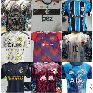 Camisas Times Brasileiro, Europeus E Seleção