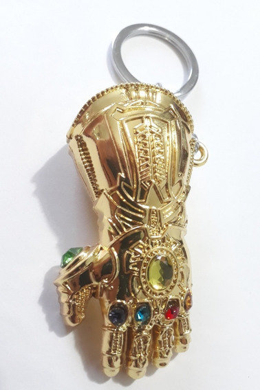 Llavero Guantelete Del Infinito De Metal Thanos (rosario)