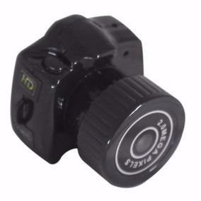 Mini Micro Camera Dv Filmadora 720p 2g Espiã Menor Do Mundo