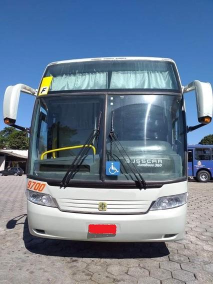 Ônibus Busscar 360 Scania K 310 Seminovo De Turismo