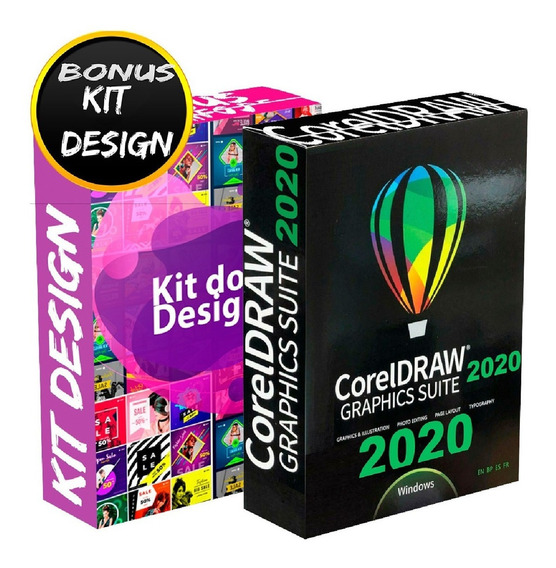 Corel Draw 2020 Chave P/ 1 Pc Coreldraw Superior 2018 2019