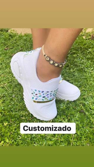 Tênis Customizado Foto Original.