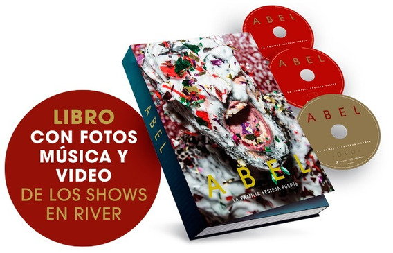 A Pintos La Flia Festeja Fuerte Libro + 2 Cd + Dvd En Stock