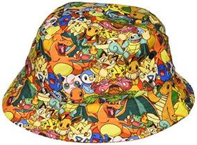 Bioworld Pokemon Over Print Print Sombrero De Cubo Sublimado