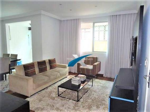 Ótimo Apartamento À Venda 3 Quartos, Prédio Revestido, Elevador,2 Vagas - B.buritis/bh - Ap5388