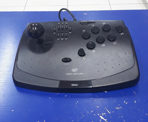 Controle Arcade P/ Sega Saturn! Loja Física!