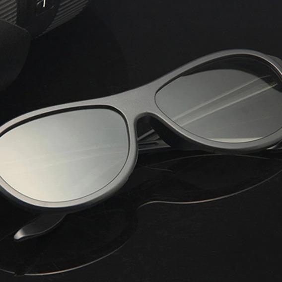 2x Óculos 3d Passivo Cinema Tv Pc Polarizado Tam Grande