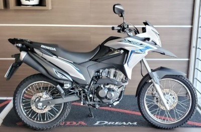 Motocicleta Honda Xre 190 2019 Prata