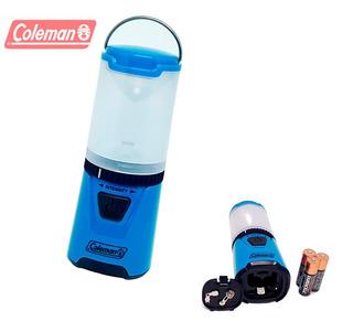 Mini Lampião De Led Coleman Pequeno E Potente 3 Pilhas Aa